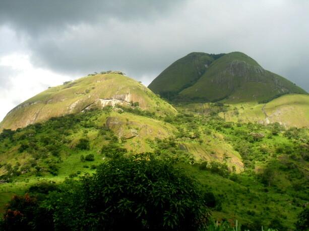 Bonitos paisajes dejando Mozambique