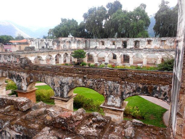 Interior del Convento de Santa Clara