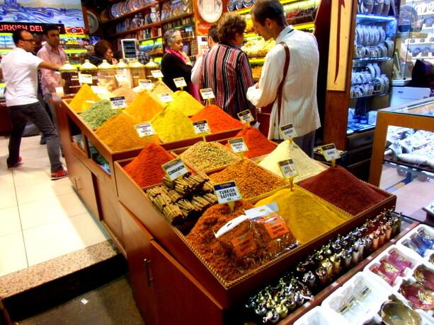 Colorido en el Bazar de las Especias