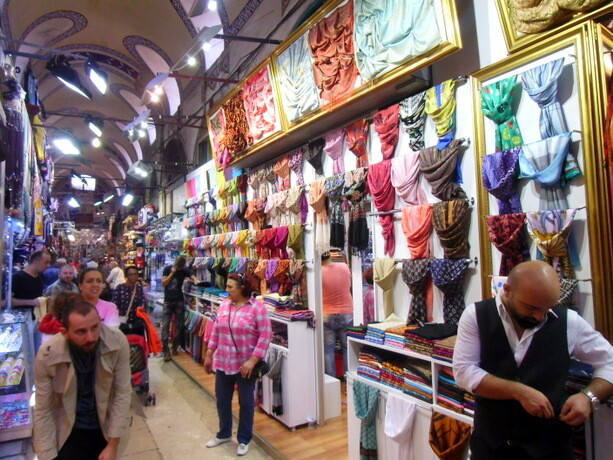 Una de las calles del Bazar