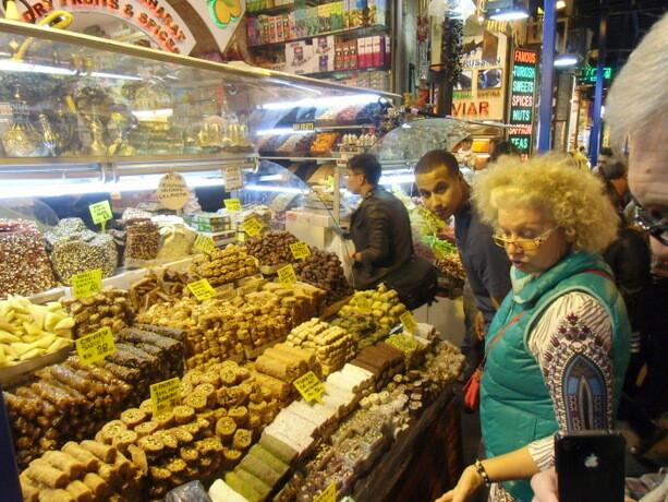 Los dulces también son protagonistas en este Bazar