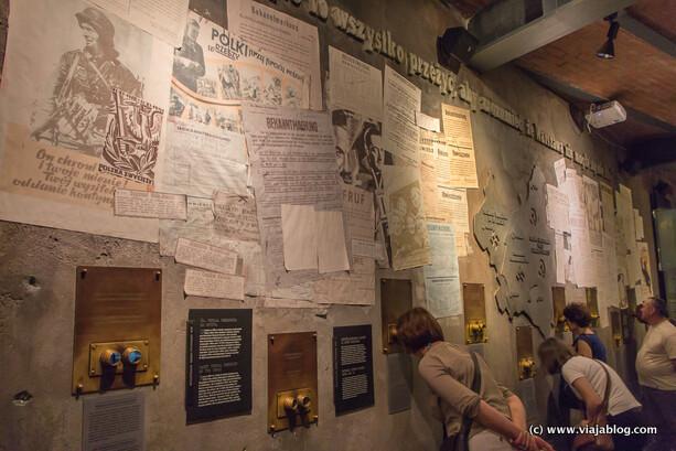Interior del Museo del Alzamiento de Varsovia (III)