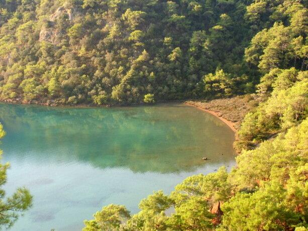 La laguna azul de Oludeniz
