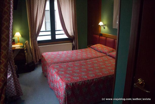 Habitación del Hotel Oria en Tolosa