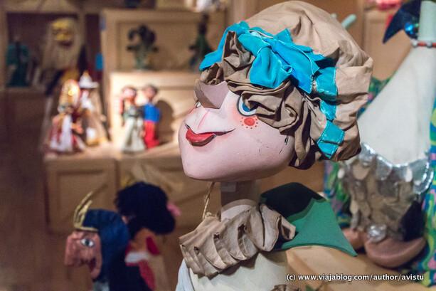 Marioneta sonriente, Topic, Museo de Títeres de Tolosa