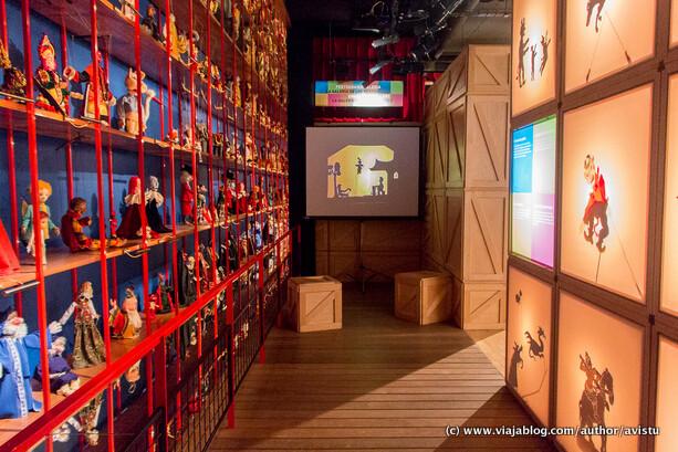 Marionetas en el Topic, Museo de Títeres de Tolosa