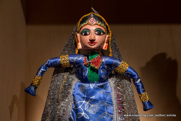 Marioneta de India, Topic, Museo de Títeres de Tolosa