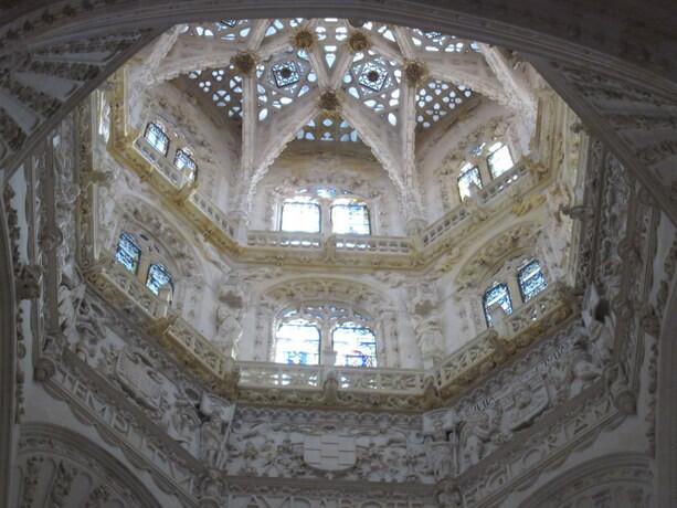 Techo de una de las naves de la Catedral