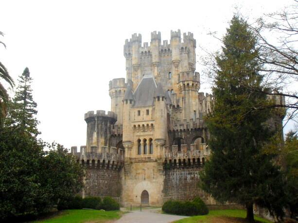 El castillo de Butrón, en Uribe
