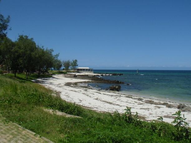 Restaurante en la parte Este de Isla de Mozambique