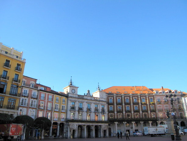 La Plaza Mayor (Plaza del Mercado Menor) de Burgos