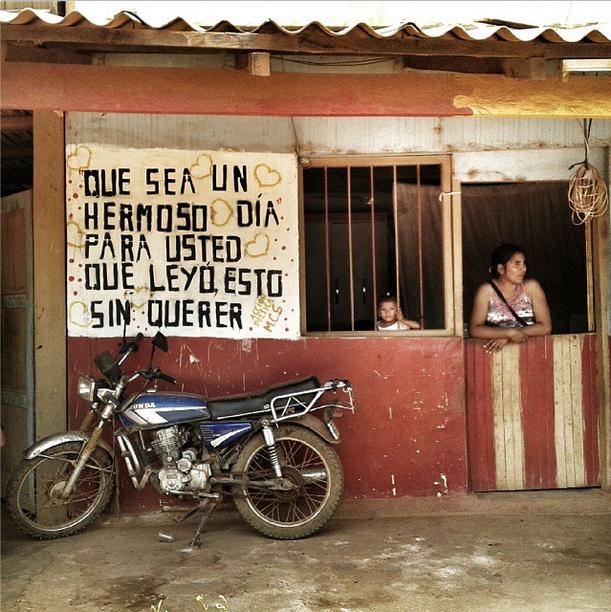 Cartel en Concepción, Bolivia