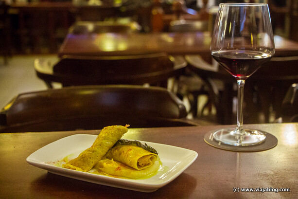 "De Tapas por Galicia, ""Ruliño de cocido"", Café Vanessa Ferrol"
