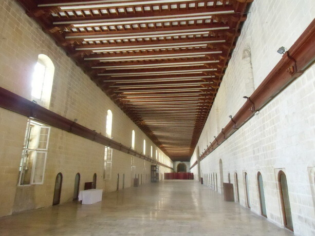 Interior del Hospital de San Juan en La Valetta