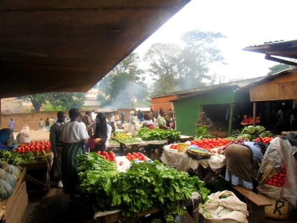 El mercado de Blantyre