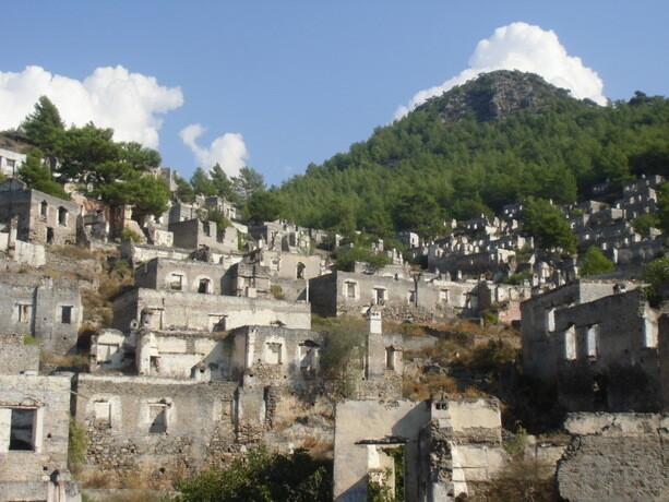 La ciudad abandonada de Kayaköy