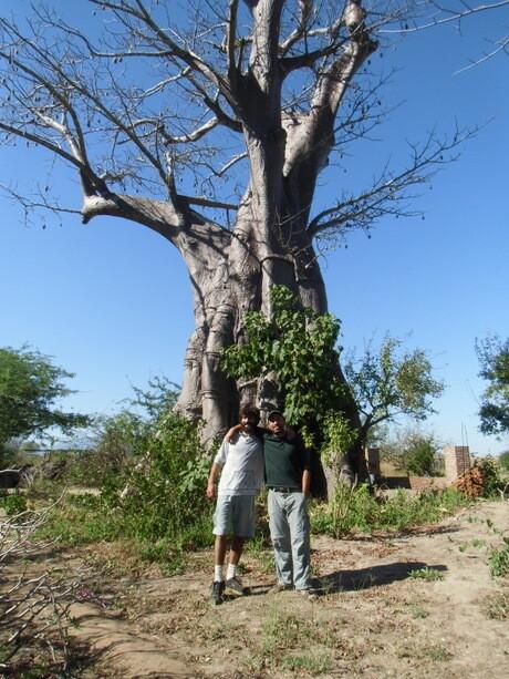 Con el gran Ophir en Liwonde
