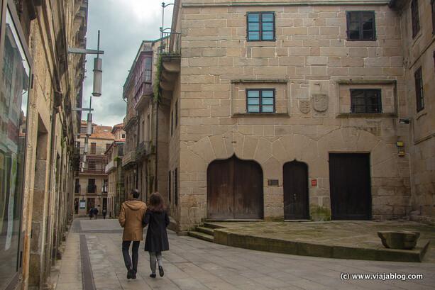 Casa de las Campanas en Pontevedra