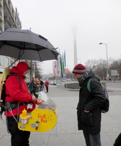 La mejor bratwurst de Berlín