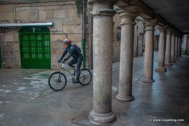 Soportales en Pontevedra