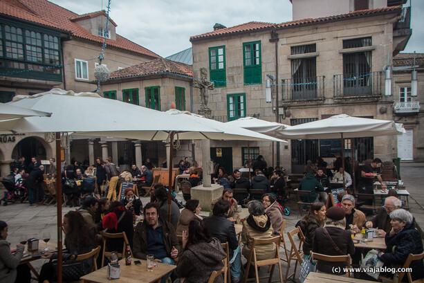 Terrazas, Plaza de la Leña, Pontevedra