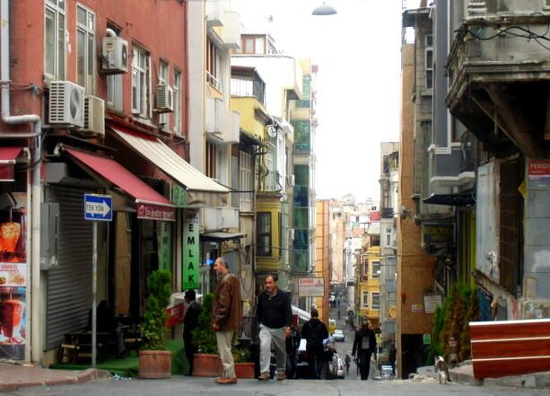 Callejones de Beyoglu