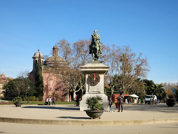 Entrada principal del Parc de la Ciutadella