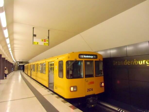 El metro de Berlín
