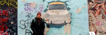 El muro de Berlín en la East Side Gallery. Gratuito