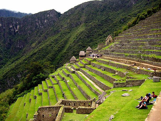 Las proporcionadas terrazas de Machu Picchu