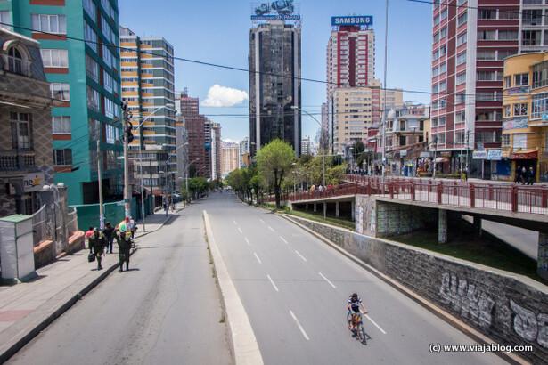 La Paz, Bolivia, sin coches: prohibido el tráfico el día de las elecciones