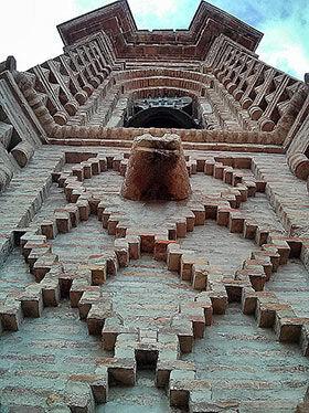 Detalle de la torre de Alcudia