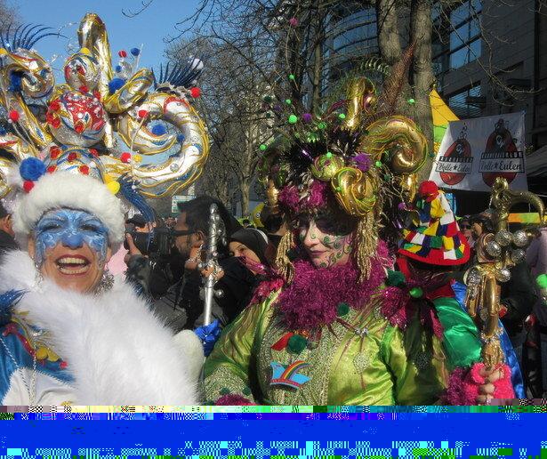 Viviendo el carnaval de Dusseldorf
