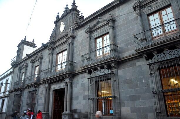 El Obispado en la calle San Agustín