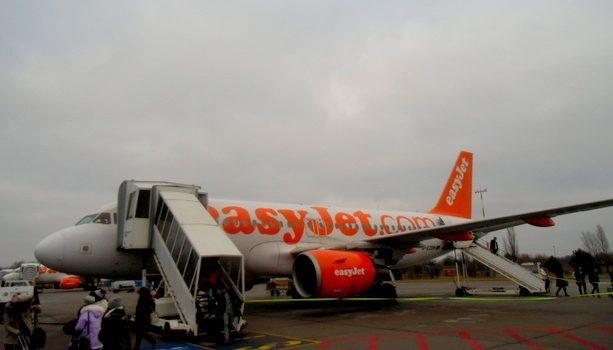 Aterrizando en Schönefeld con EasyJet