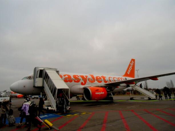Aterrizando en Schönefeld