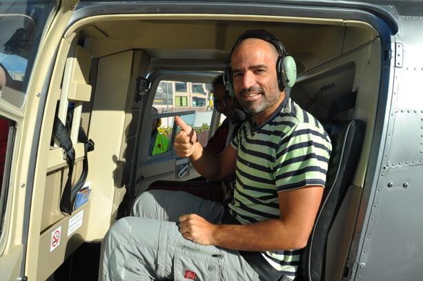 Mi primera experiencia en helicóptero ocurrió en Tenerife