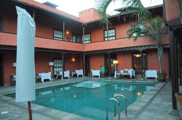 La piscina climatizada del Hotel San Roque