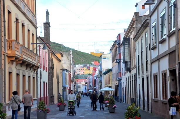 Calles de La Laguna en Tenerife