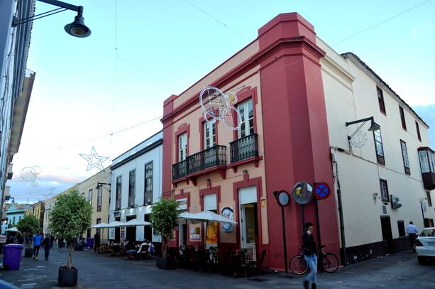 Las coloridas calles de La Laguna