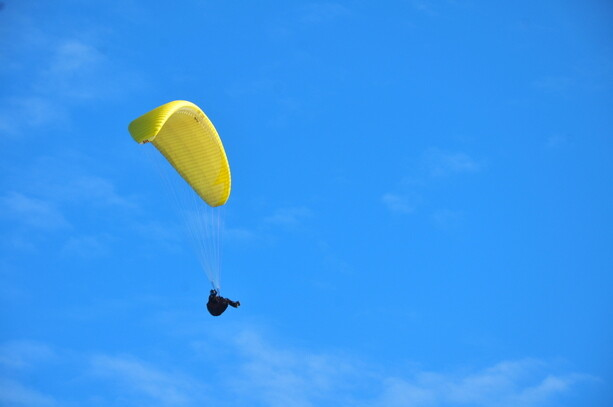 En el aire!