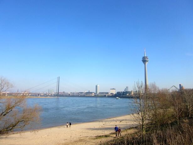 La playa del Rhin