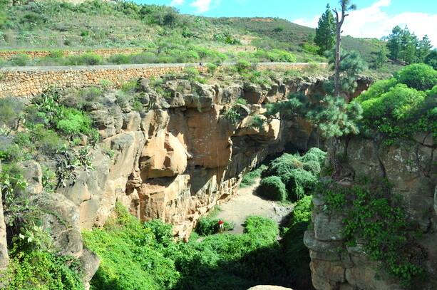 El barranco de Arico