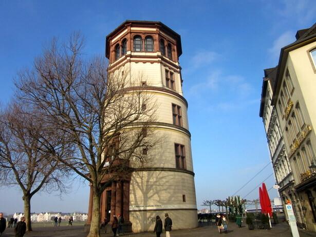 La torre de la Burgplatz