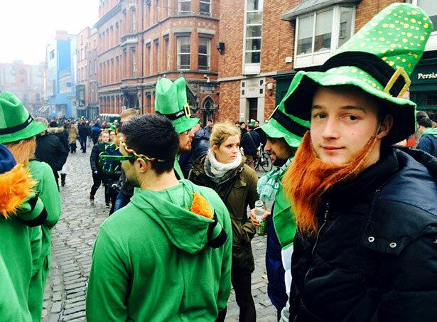 El verde, el color rey de la fiesta de San Patrick