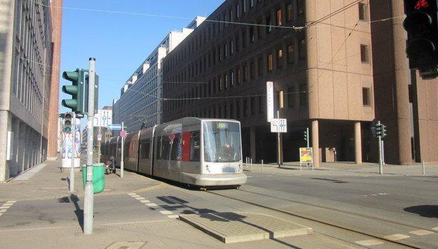 El tranvía de Düsseldorf