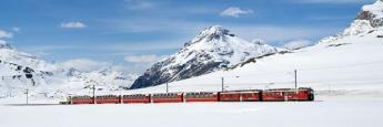 Bernina Express entre Suiza e Italia