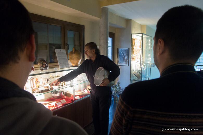 Visita guiada con Paco Díez, Aula Museo Paco Díez en Mucientes (Valladolid)