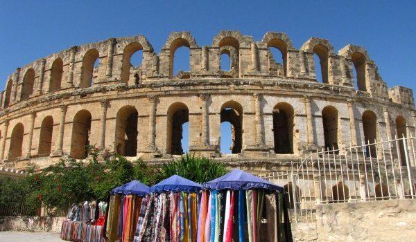 Coliseo Romano El Djem en Tünez