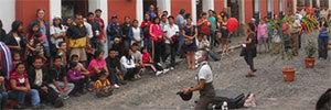 Visita a La Antigua en Guatemala